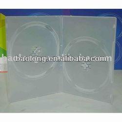 9mm semi-clear double DVD case ppd20948-khd