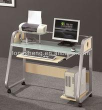 vetro temperato computer desk cool