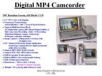 Digital MP4 Camcorder