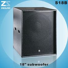 S18B 18 inch sub woofer