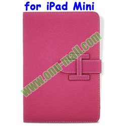 New Arrival Book Style Cheap Leather Case for iPad Mini With Blet