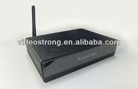 Set top box dvb-t/t2/ DVB-S/S2 isdb-t android smart TV box