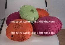 Cotton Canvas zafu cushion / zafu cushions