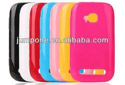 candy Soild TPU back cover Case for Nokia Lumia 710