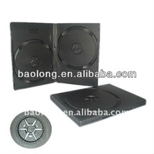 14mm dvd case black double standard BL08203-khd