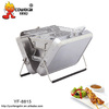 Garden box type BBQ charcoal pit