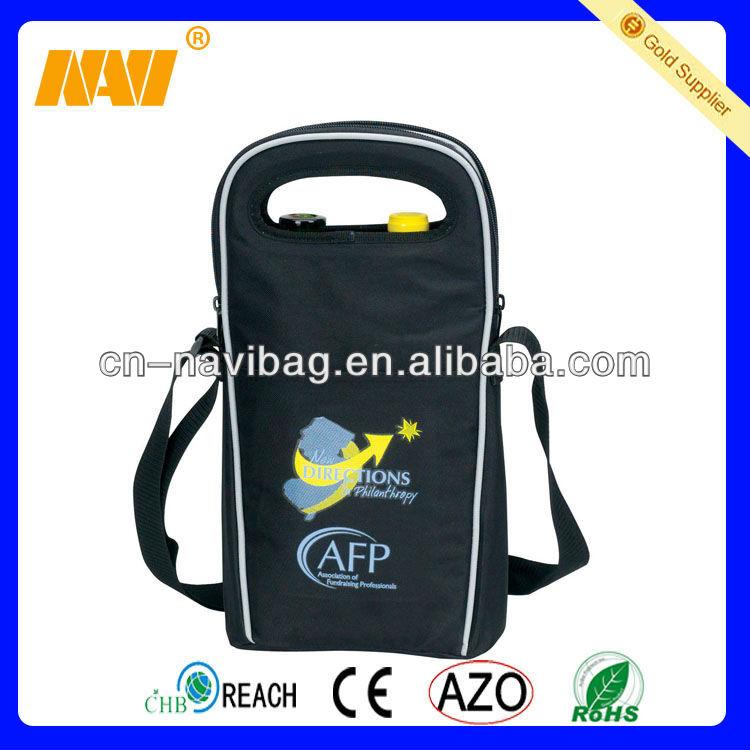 High qaulity new design wine bottle cooler bag(NV-CL063)