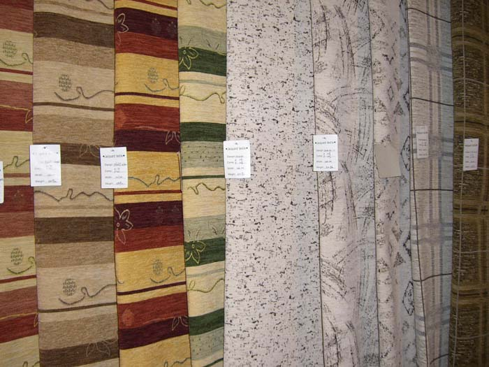 Upholstery Chenille Sofa Fabrics