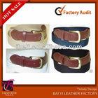 2013 HOT SALE Web Golf Leather Tab Casual Elastic Stretch Nylon Canvas Belt