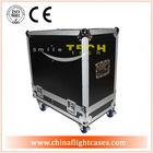 Heavy-duty flight case for 2*QSC K12 speakers, Speaker flight case plastic speaker case