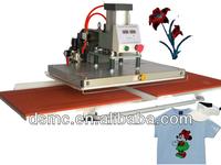CE flat pneumatic heat press machine t-shirt