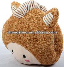 fashion horse doll hand warmer pillow