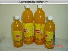 Fruit Juice Beverages in Pet Bottles
