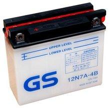 12N7A-4B - Motorcycle battery (acid type)