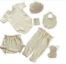 7 Pcs Organic Cotton Baby Clothing