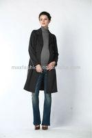Hot sale 2013 shiny brand fashion women long coat