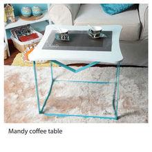 white gloss coffee table