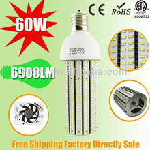 ce&rohs approved LM80 chip e40 60w downlight dimmable