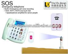 On sale!!! Emergency big button senior telephone, VIP corded phone