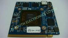 laptop pci VGA card mxm ii 8600m gt ddr2 512MB
