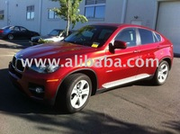 USED BMW X6 -YEAR 2008-RED COLOR