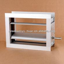 Aluminum volume control damper/VCD