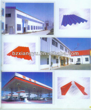 resistant to water /corrugated roofing sheet