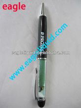 Black Promotion Novelty Gift Business ballpoint Floating Liquid Pen