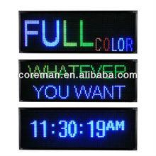 Ali cheap price mini size and portable for Australian market dot matrix waterproof custom led open sign