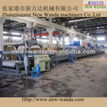 Spvc- nwd- ps1500 de un solo color de la alfombra de la bobina línea de la máquina