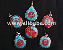 Tibetan brass lovely amulets pendants,mix order,best offer