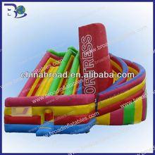 bambini e adulti divertente e conveniente outdoor scivolo gonfiabile giochi di partito