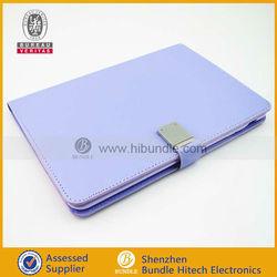 2013 latest book shell for mini ipad pu leather protection case