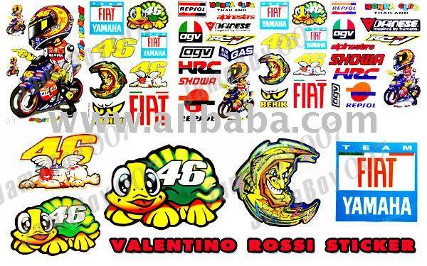 Valentino ROSSI 46 pegatinas DECAL RACING MOTO GP deportivos ...