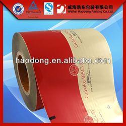 China manufacturer custom printed moisture proof laminating film rolls packing material