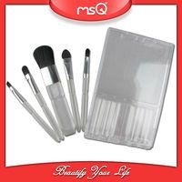 MSQ 5pcs goat hair acrylic makeup brushes holder