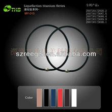 2013 the simple and easy health care germanium titanium necklaces new design