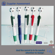 football plastic pen