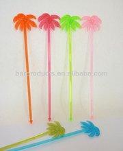 Plastic Cocktail Stirrer Swizzle Sticks