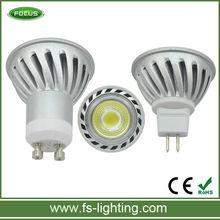 GU10 5 watts direct replacement for mains powered 35w halogen GU10 spot light 5x1w lighting gu10 led