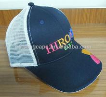 Embroidery Baseball Ball Cotton Mesh Mens Womens Cap Golf Sports Hat