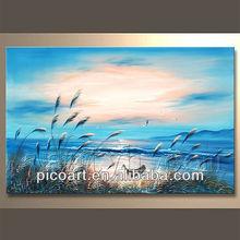 Hot Sell Handamde Waves Acrylic painting