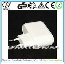 promotional 12w 6v power adapter with eu plug