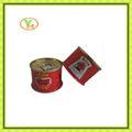 Très chaud vendre à la chine de purée de tomate en conserve, prix des tomates fraîches