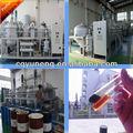 De motor usado negro/coche/camiones/motor eléctrico de tratamiento de petróleo y plantas de reciclaje/máquina/refinería