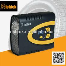 Dongguan Richtek oil free air compressor RCP-C62A Digital air compressor, tire infaltor