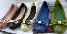 OEM nice quality latest brand name shoes PVC,PVC shoes,flat PVC shoes for women paypal dropship