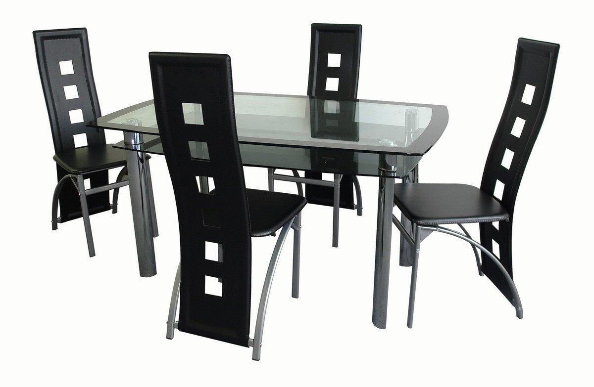5 unid juego de comedor sets para sala comedor for Juego de comedor moderno precios