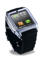 bluetooth companian for smart phoneTW530,silicwatch gold cell phone on great promotion