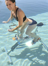 Underwater Aquatic Fitness Bike pool bike